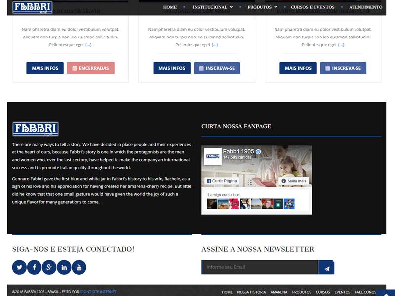 Protótipo de Site