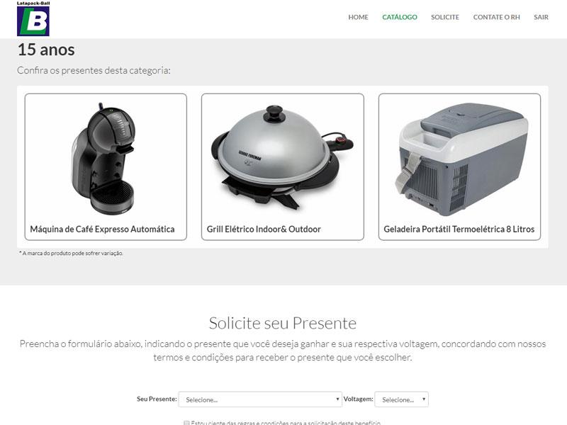 Hotsite Campanha Endomarketing